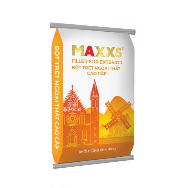 BỘT TRÉT NGOẠI THẤT CAO CẤP - MAXXS FILLER FOR EXTERIOR.