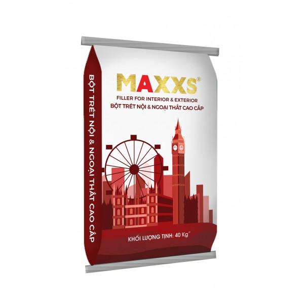 BỘT TRÉT NỘI & NGOẠI THẤT CAO CẤP - MAXXS FILLER FOR INTERIOR & EXTERIOR.