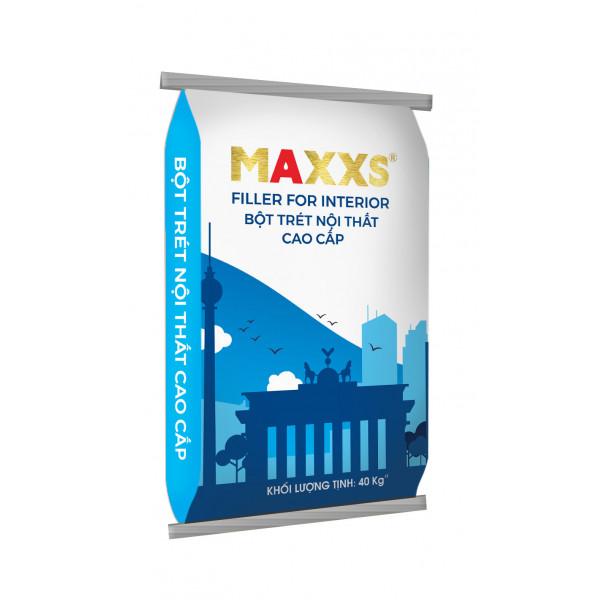 BỘT TRÉT NỘI THẤT CAO CẤP - MAXXS FILLER FOR INTERIOR.