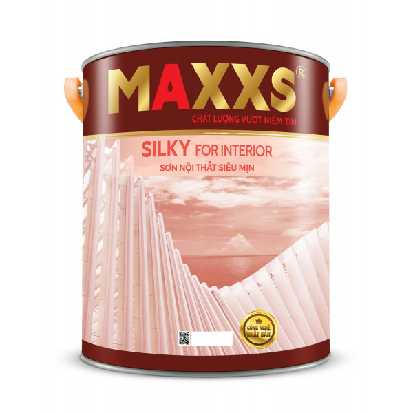SƠN NỘI THẤT SIÊU MỊN - MAXXS SILKY FOR INTERIOR.