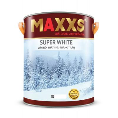 SƠN NỘI THẤT SIÊU TRẮNG TRẦN - MAXXS SUPER WHITE.