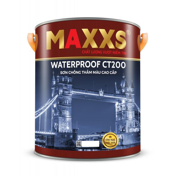 SƠN CHỐNG THẤM MÀU CAO CẤP - MAXXS WATERPROOF CT200.