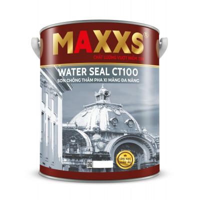 SƠN CHỐNG THẤM PHA XI MĂNG ĐA NĂNG - MAXXS WATER SEAL CT100.